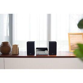 Sony Stereo CMT-SX7B DAB/FM/CD Bluetooth NFC Wi-Fi Micro Hi-Fi System, Black