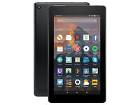 "New Amazon Fire 7 Tablet with Alexa, Quad-core, 7"" Wi-Fi, 8GB with Special Offers, Marine Blue"