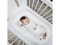 BRAND NEW PACKED Sleepyhead of Sweden Deluxe Pod Bed Prestine White 0-8 months