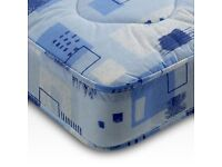 Double spring mattress - free delivery