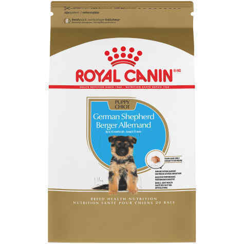 Royal Canin Breed Health Nutrition German Shepherd Puppy Dry Dog Food -30LB