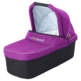 Purple punch single out n about carry cot