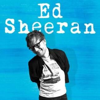 4 x Ed Sheeran March 9th, Friday tickets