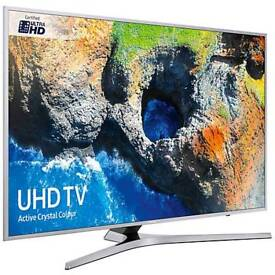"""Samsung Ue55mu6100 55""""Smart 4k UHD freeview TV. Brand new boxed complete can deliver and set up."""