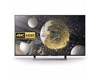 "New Sony Bravia Ultra 4K 49XD8099 49"" HD TV"