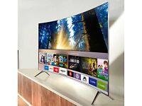 "SAMSUNG UE55KS7500 Smart 4k Ultra HD Premium HDR 55"" Curved LED, RRP £1300 Brand New Sealed"