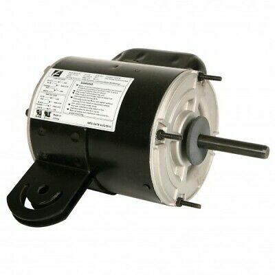 12 Hp Electric Motor 1 Phase With Yoke Mount 115-230 V. New Old Stock