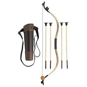NEW Authentic Disney Store BRAVE Merida Bow and Arrow Archery Set Quiver Costume