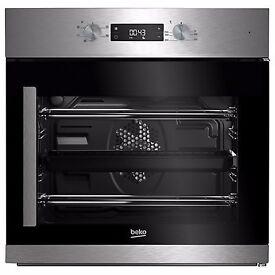 NEW - Beko BIF22300XR Built In Electric Single Oven, Stainless Steel - BARGAIN PRICE @ £180