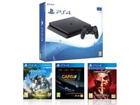 PlayStation 4 Slim 1TB with Horizon Zero Dawn Tekken 7 and Project Cars ★★★★★