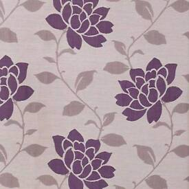 John Lewis, lined curtains pencil pleat