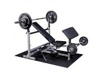 Body Solid Ultimate PowerCentre Bench Package