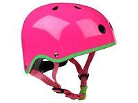 Lost pink bike helmet in Balloch