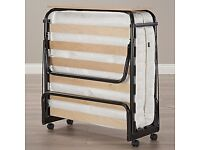 Double fold up bed with mattress (pick up only)