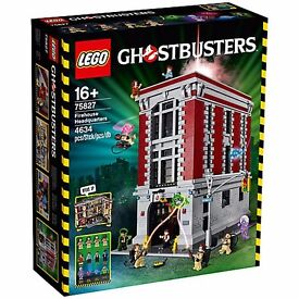 BRAND NEW LEGO GHOSTBUSTERS FIREHOUSE HEADQUARTERS SET