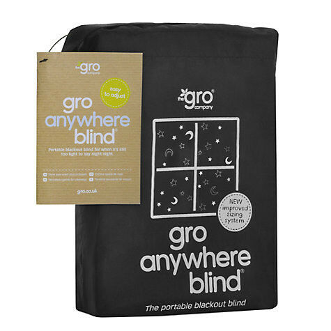Blackout Blind by Gro-Anywhere , Star and Moon Print