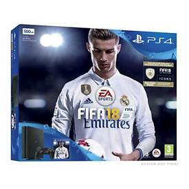 Ps4 bundle brand new 500gb fifa 18