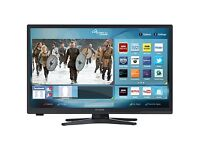 "Linsar 22"" Full HD Ultra Slim LED Smart TV with DVD & Freeview HD"