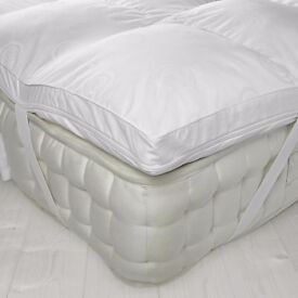 Single John Lewis Luxury Memory Foam Mattress Topper with Microfibre, only used for 3 months.