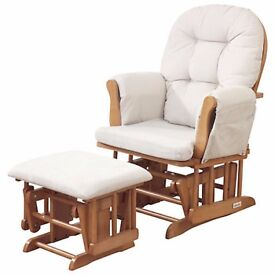 KUB Nursing Chair and foot stool/ Rocking Chair