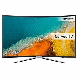 "Samsung UE49K6300 Curved LED HD 1080p Smart TV 49"" with Freeview HD and Built-In Wi-Fi"