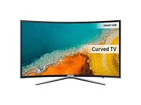 """Samsung UE49K6300 Curved LED HD 1080p Smart TV 49"""" with Freeview HD and Built-In Wi-Fi"""