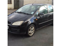 BREAKING FORD CMAX 1.8 PETROL BLACK MANUAL ALLOYS DOORS LIGHTS DOOR