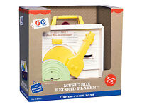 Fisher Price Music Box record player Toy