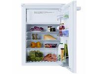 Undercounter fridge with freezer box