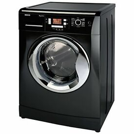 black beko wasking machine new/graded 12 mth gtee 7kg 1400 spin rrp £299
