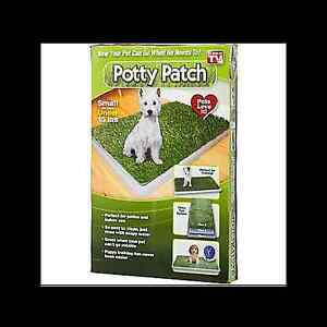 Potty Patch and Attractant Spray