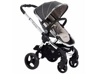 iCandy Peach Pushchair with Chrome Chassis & Truffle 2 Hood Brand New Boxed