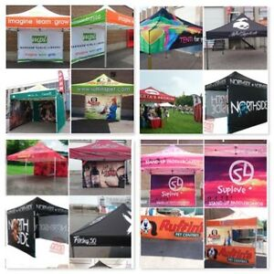 Outlet Tags Custom Canopy Tent Packages ONLY $599.99 Gatineau Ottawa / Gatineau Area image 1