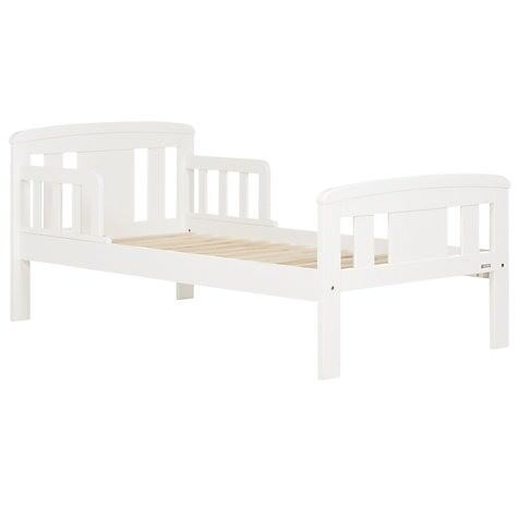 John Lewis Boris Toddler Bed + Mattress + Duvet + Pillow + Bedclothes