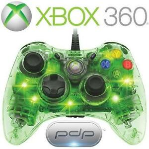 REFURB XBOX 360 PDP AG CONTROLLER - 113052084 - AFTERGLOW GREEN VIDEO GAMES