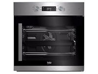 NEW - Beko BIF22300XR Built In Electric Single Oven, Stainless Steel - BARGAIN PRICE @ £180
