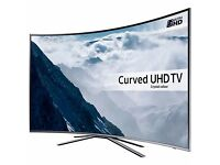 """Samsung UE49KU6500 Curved HDR 4K Ultra HD Smart TV, 49"""" with Freeview HD/Freesat"""