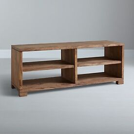 "John Lewis Stowaway TV Stand (42"" TV) & 2 John Lewis Stowaway Bookcases, unfinished"