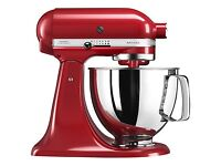 Kitchen Aid Artisan Stand Mixer: 4.8L Empire Red, Brand New, box never opened, 5 year guarantee