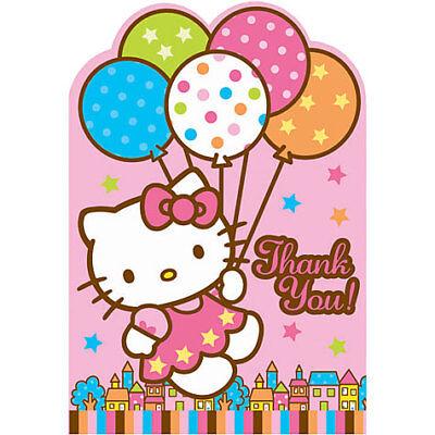 8 Hello Kitty Thank You Notes ()