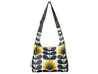 ORLA KIELY SUMMER FLOWER MIDI SLING BAG IN SUNSHINE