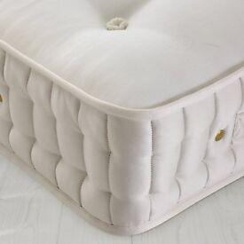 2 months use / John Lewis Natural Collection 4000 Cotton Pocket Spring Mattress, Medium, Double