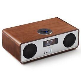 Ruark R2 MK3 DAB/FM/Internet Radio with Wi-Fi and Bluetooth,Walnut (BNIB)
