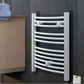 Dinmplex TDTR175W Heated Electric Towel Rail Heater
