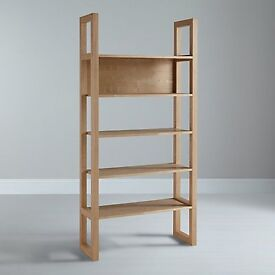 Brand new in box - john lewis Logan bookcase in ash rrp £199
