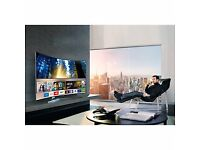 "Samsung UE55KS9000 CURVED 55"" SMART 4K SUHD HDR Quantum Dot LED TV + FREE TECHLINK TV STAND"