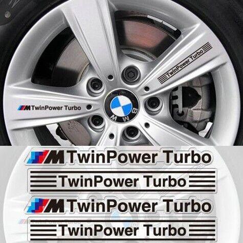4PCS//Set Car Sticker Handle Window Emblem Badge Sport Decals For BMW Gift
