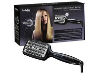 Babyliss diamond radiance heated smoothing brush