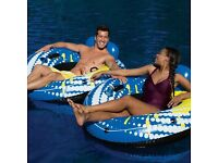 Brand new Bestway Coolerz Rapid Rider Tube 2 Pack swimming Pool Inflatable