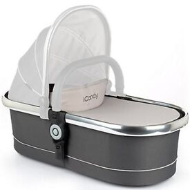 NEW IN BOX icandy peach main carry cot Truffle